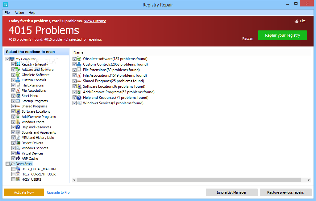 windows startup programs registry