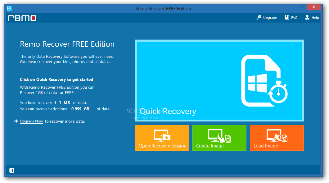 Remo recover free edition 1.0