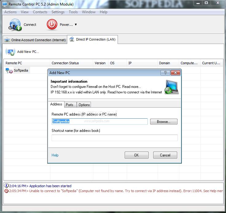 Download Remote Control PC 5 4 0 0