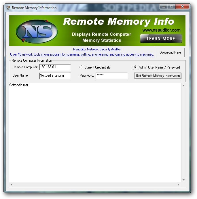 how to get an idntic memory