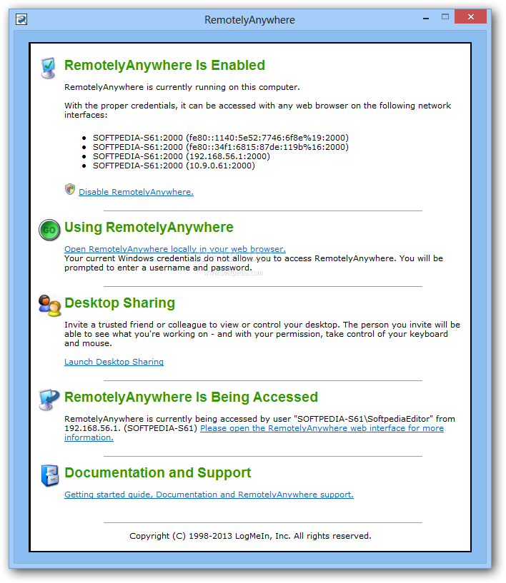 REMOTELYANYWHERE MIRROR DRIVERS FOR WINDOWS DOWNLOAD