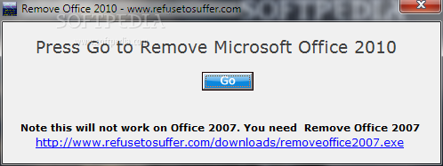 Remove Office 2010 Download