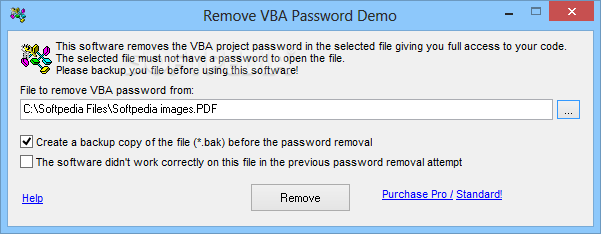 Download Remove VBA Password 4 9 2