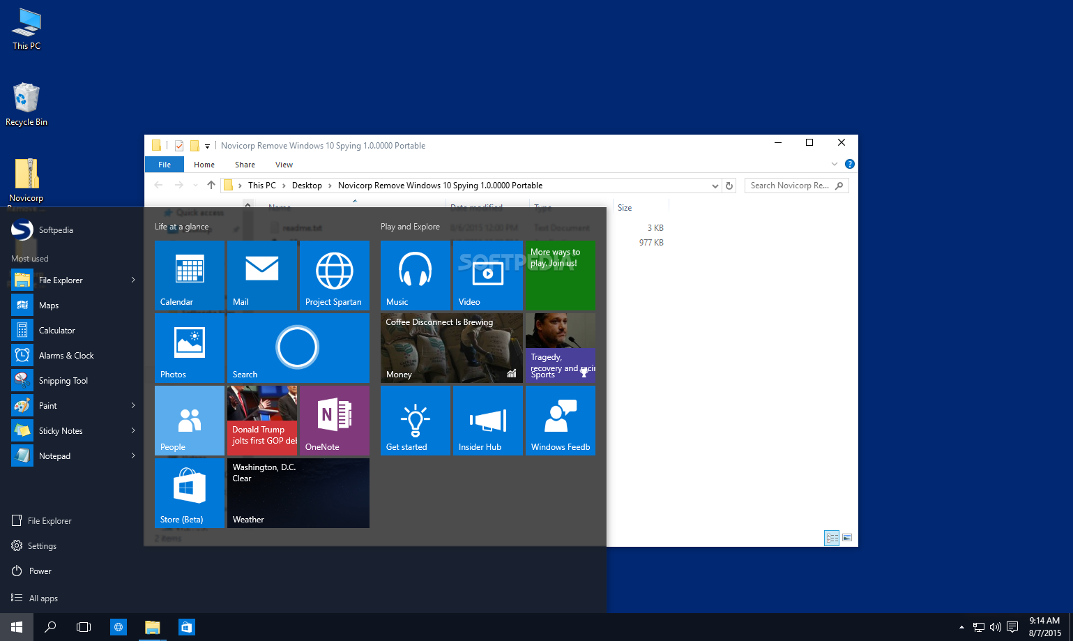 Download Remove Windows 10 Spying Features 1 2 0000