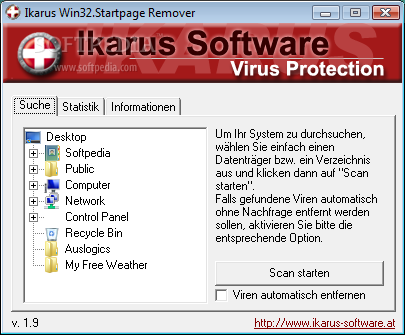 Download Remover for Trojan.Startpage 1.9