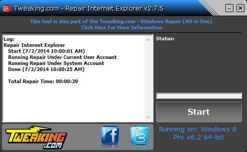 Download Repair Internet Explorer 2 8 8