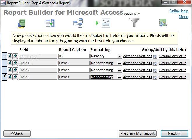 Download Report Builder for Microsoft Access 1 1 0