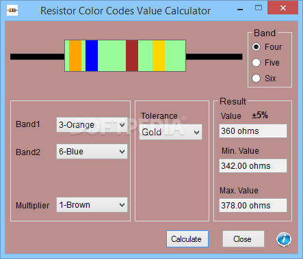 Download Resistor Color Codes Value Calculator 10