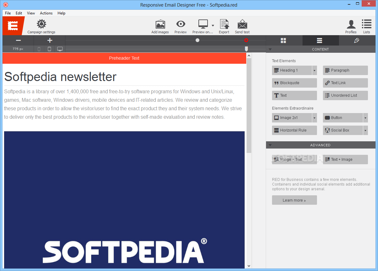 download responsive email designer 3 0 build 1592