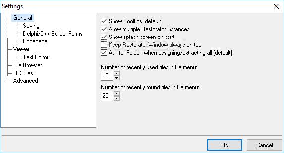 Download Restorator 2018 3.90 Build 1793 ... Restorator 2018 - screenshot #7 ...