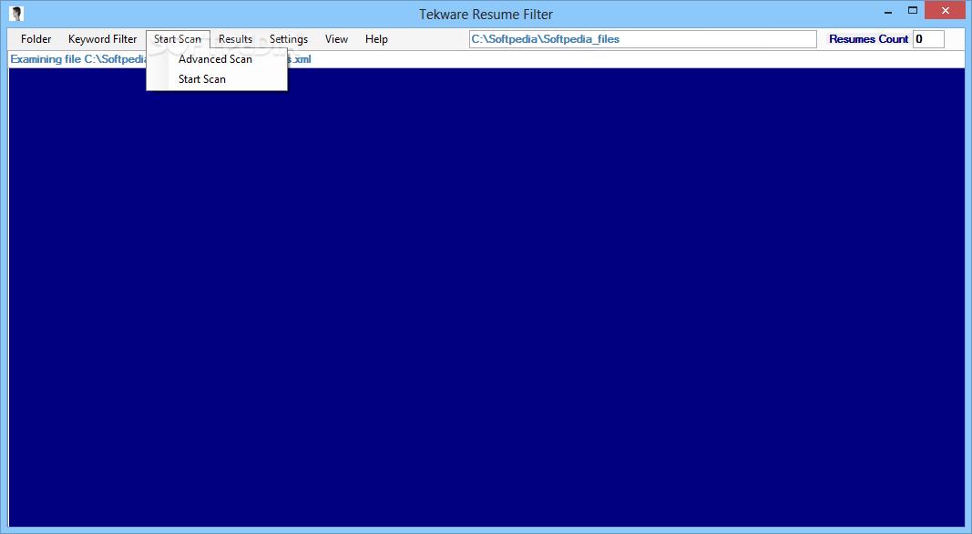download tekware resume filter 2 5 0 0