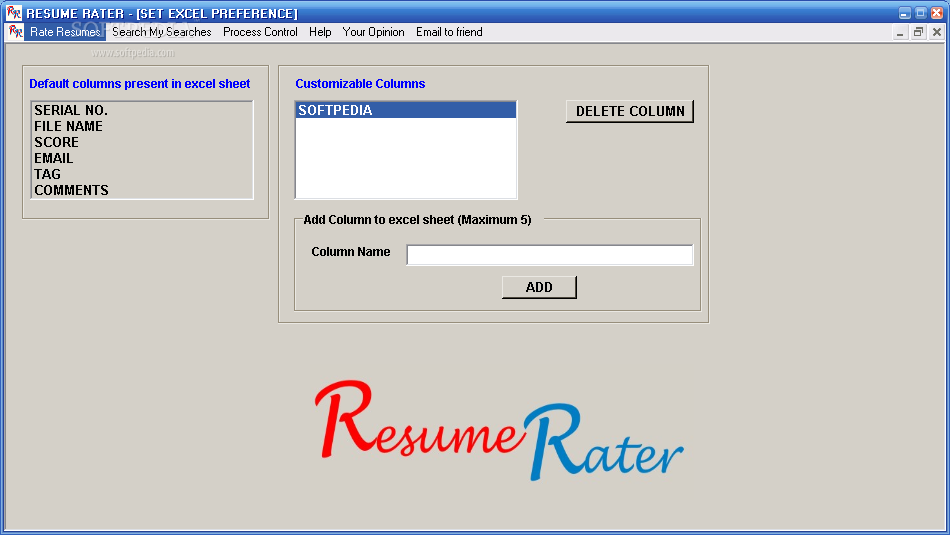 download resume rater 1 0