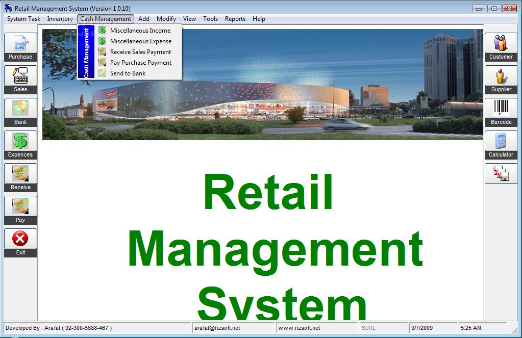 Download Retail Management System 1.0.0.10