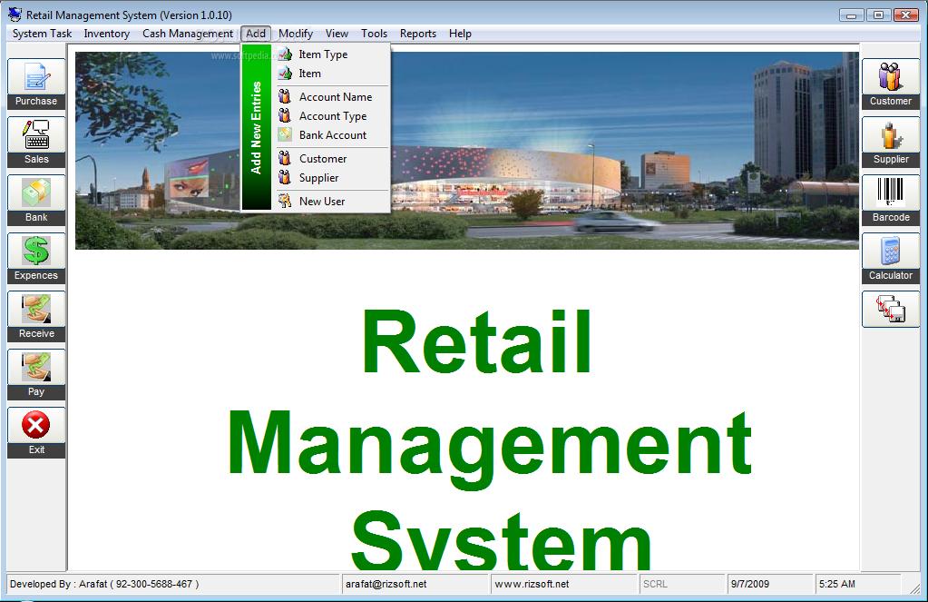 Download Retail Management System 1 0 0 10