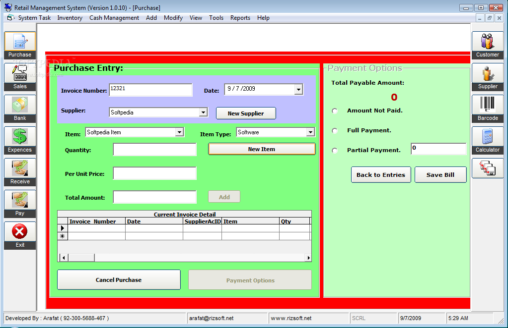 mobile store mgmt system The mobile store management system will make storing of stock records, employee records, purchase information and customer information download vb, visual basic projects visual basicnet source code examples  library management system download medical store in vb download 1.