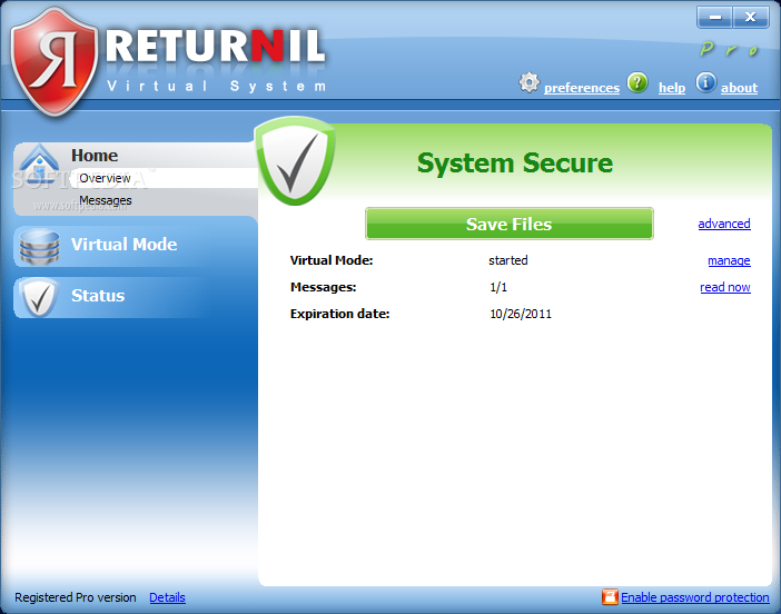 RETURNIL SYSTEM EDITION VIRTUAL TÉLÉCHARGER PERSONAL