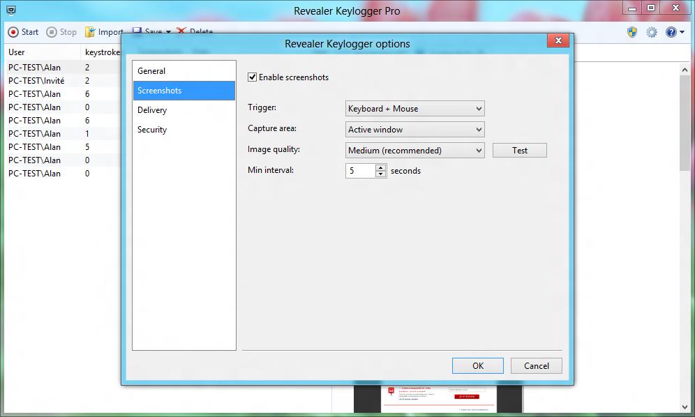 revealer keylogger free edition 1.33