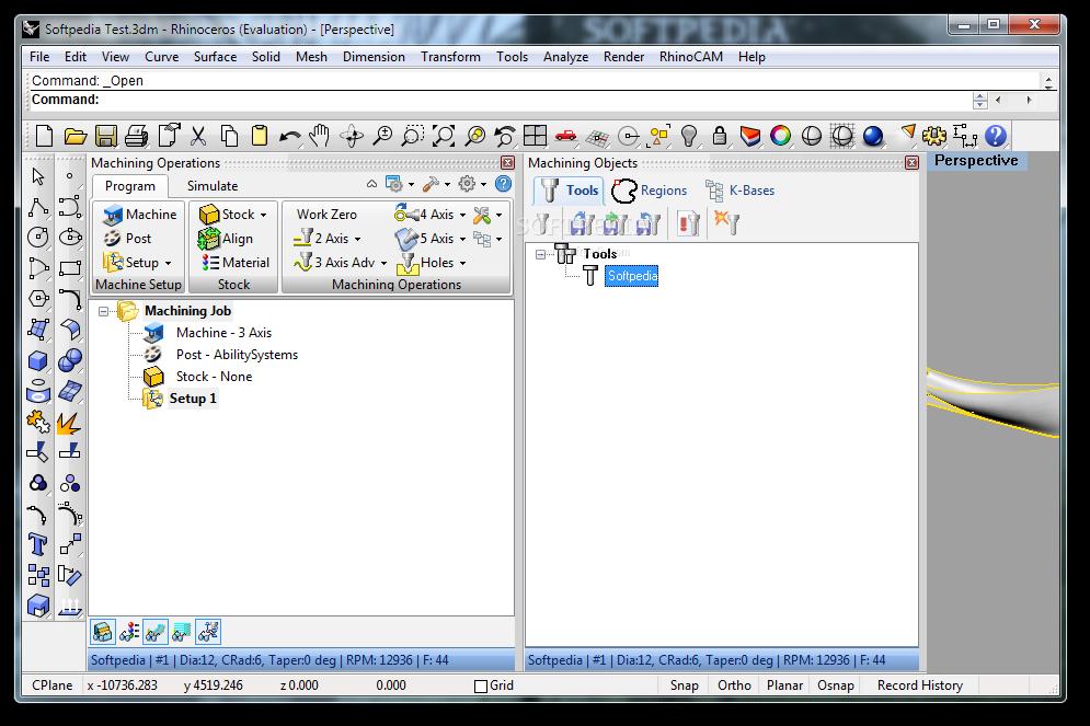 Download RhinoCAM 3 0 0 49