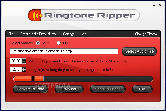 MP3 To Ringtone Gold - Download