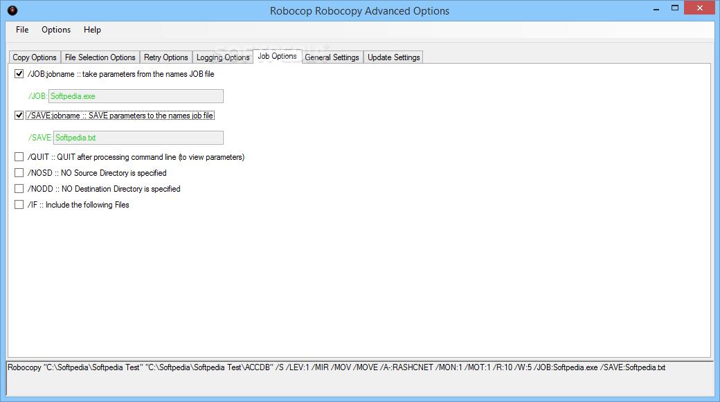 Download RoboCop RoboCopy 3 2 0 0