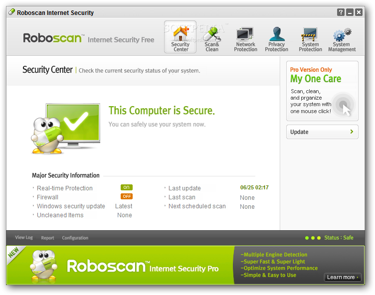 Free Internet Security >> Download Roboscan Internet Security Free 2 5 0 17