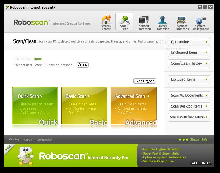 Download Roboscan Internet Security Free 2 5 0 17