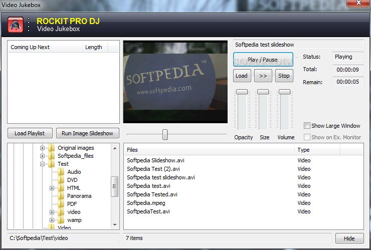 Download Rockit Pro DJ 5.00 Build 121 ... Rockit Pro DJ - screenshot #8 ...