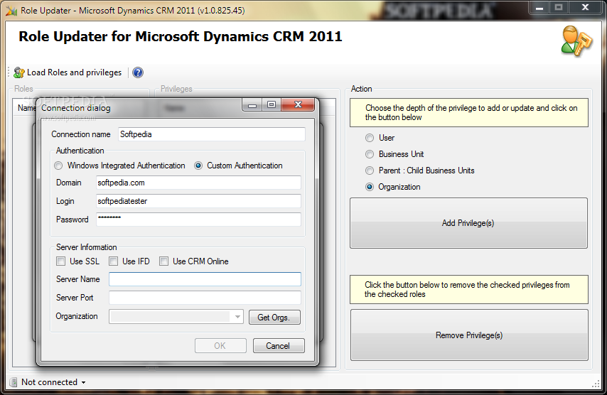 Role-Updater-for-Microsoft-Dynamics-CRM-