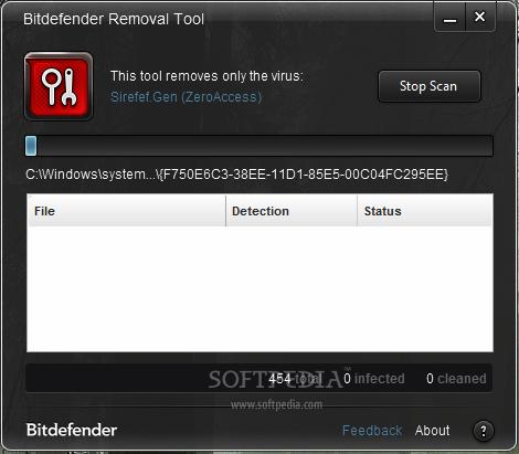 sirefef gen c removal tool