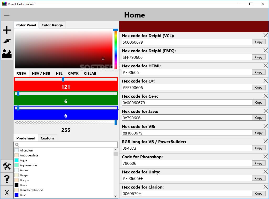 Download Roselt Color Picker 2 0 1 0