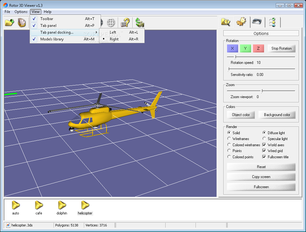 Download Rotor 3d Viewer 1 3
