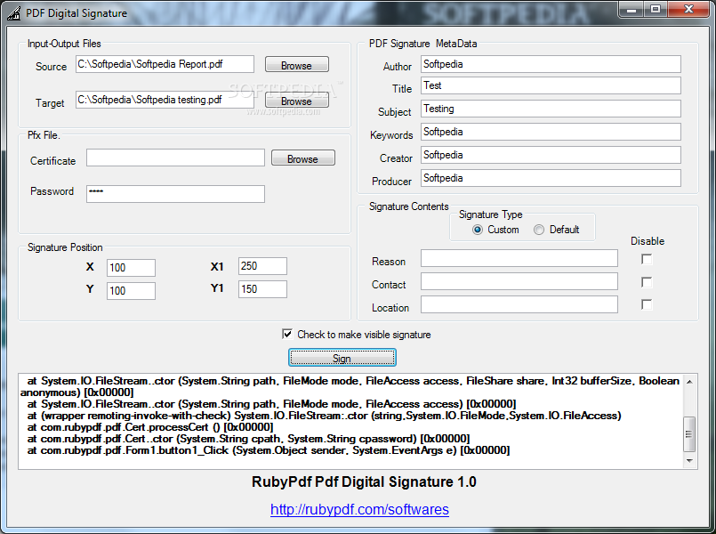 Download PDF Digital Signature 1 0