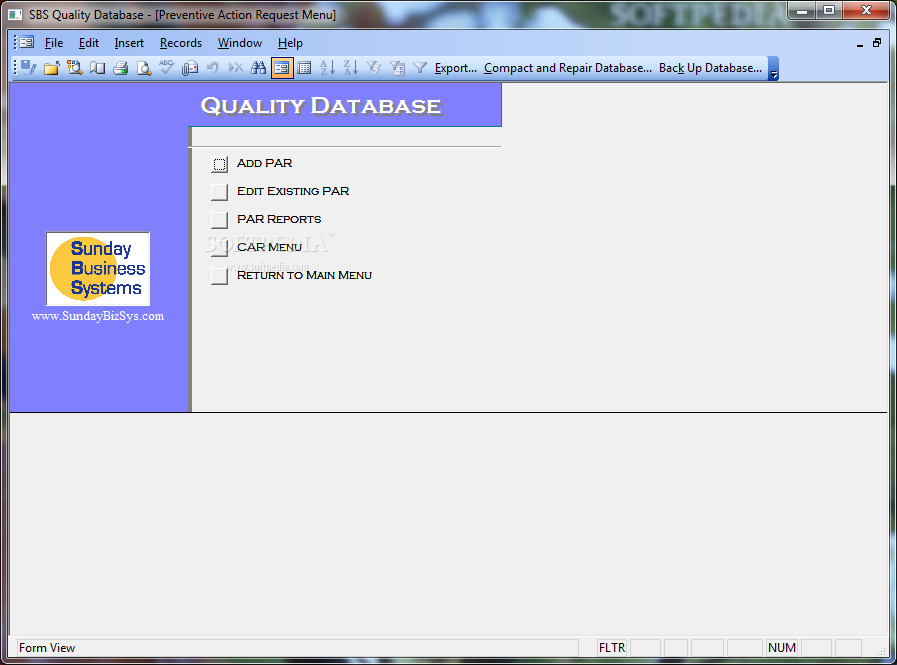 Sbs Quality Database Download