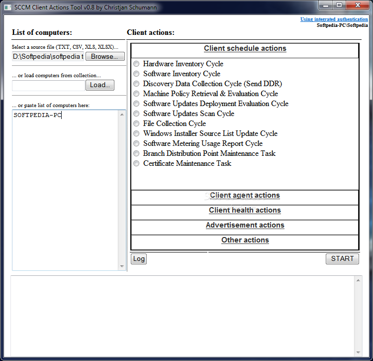 Download SCCM Client Actions Tool 0 8 Beta