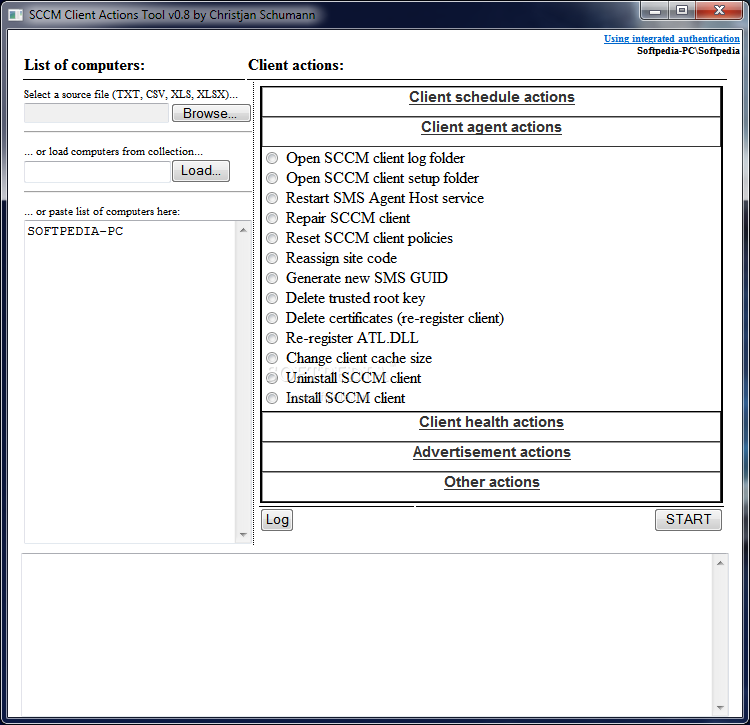 Download SCCM Client Actions Tool 0.8 Beta
