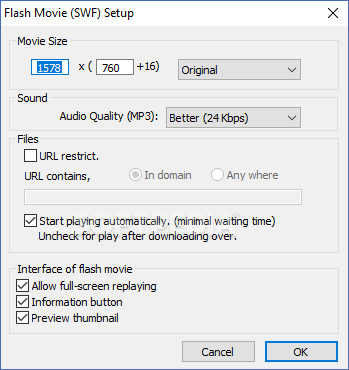 SCREEN2EXE - capture desktop activity
