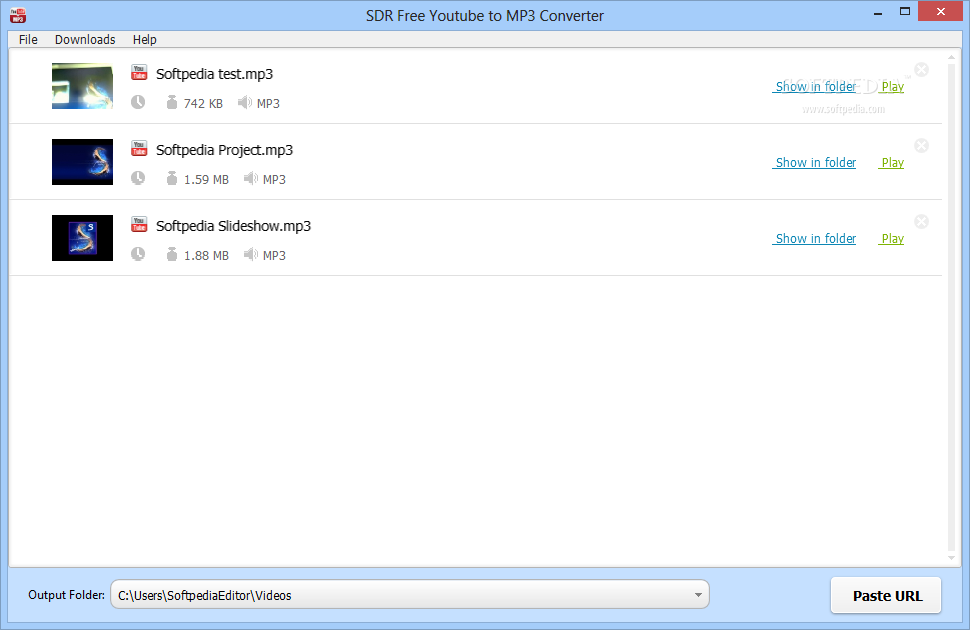 Download SDR Free Youtube to MP3 Converter 1 0 0
