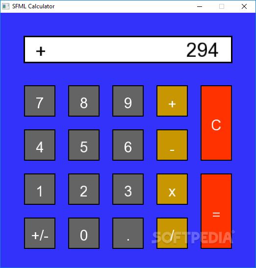 Download SFML Calculator 1 0