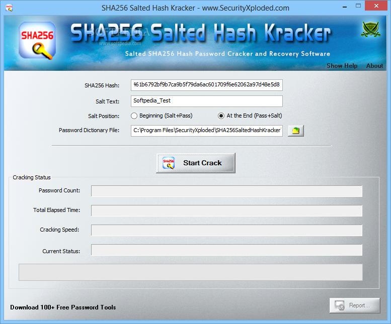 Download SHA256 Salted Hash Kracker 1 6