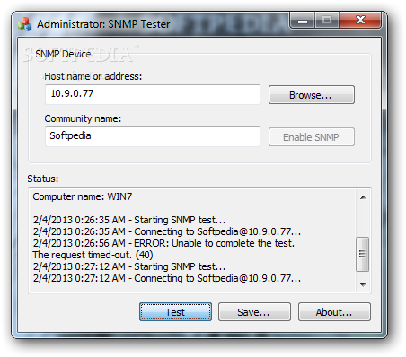 Silvercreek the snmp test suite   iwl.