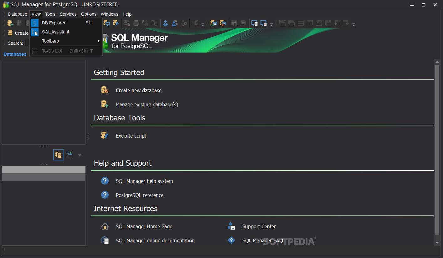 Download SQL Manager for PostgreSQL Portable 5 9 5 Build 52424