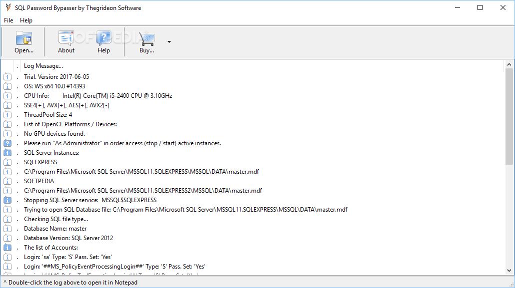 notepad password reset