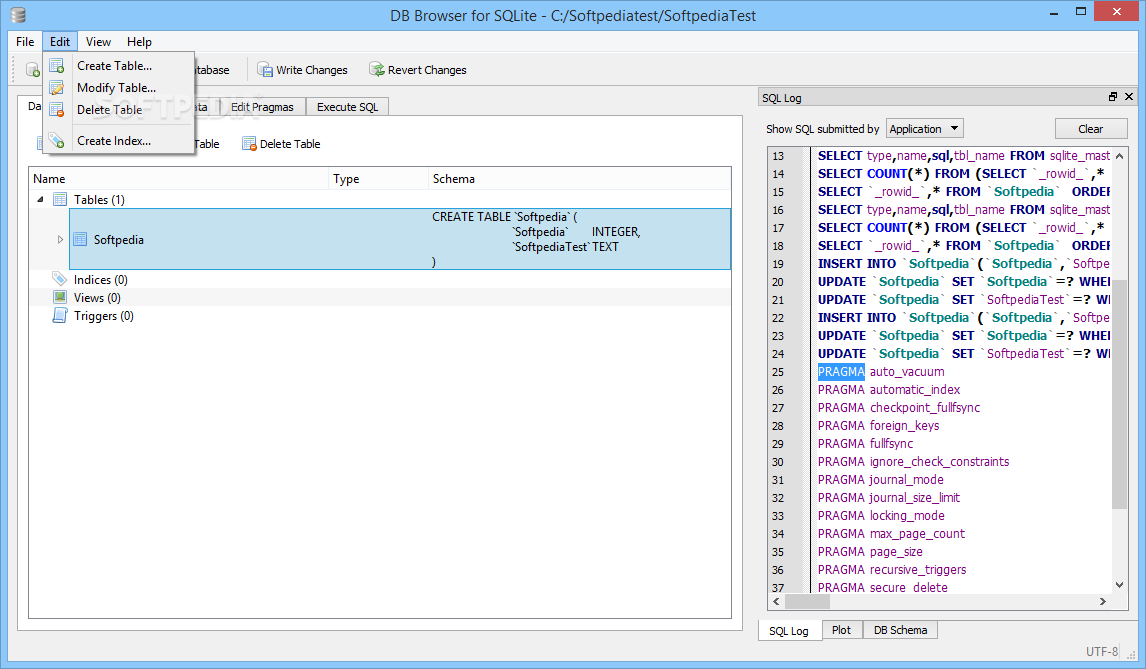 sqlite manager free  for windows 8