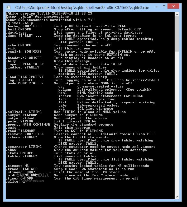 Download SQLite 3 29 0