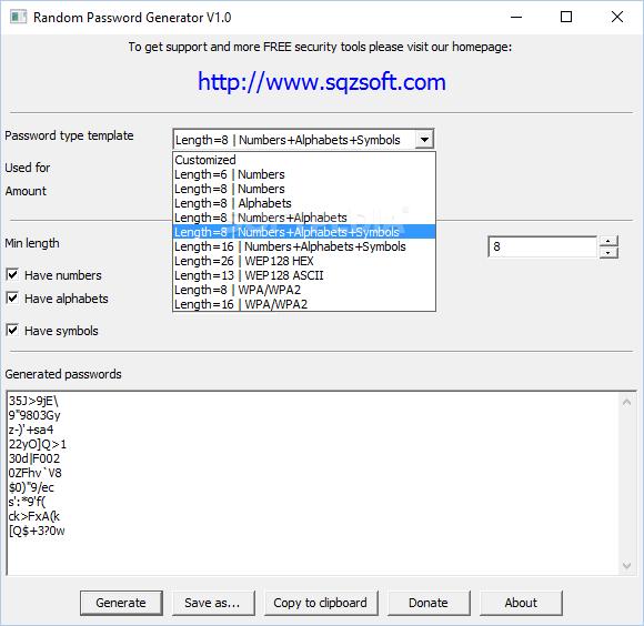 random email generator with password