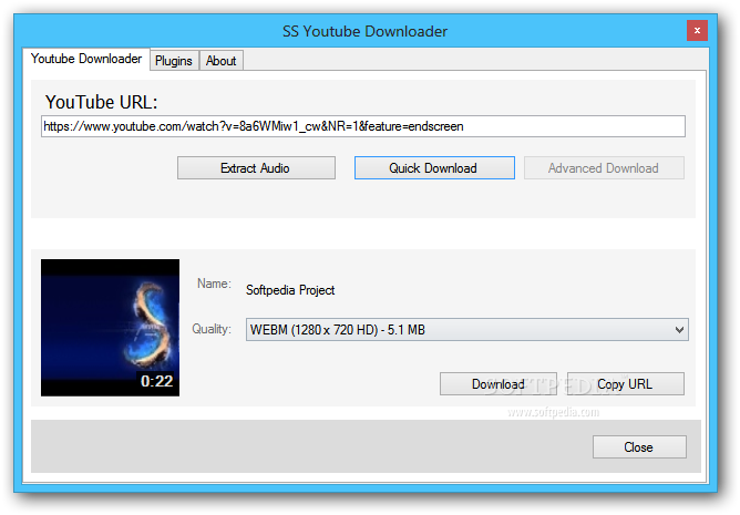 SS YouTube Downloader Download - Softpedia