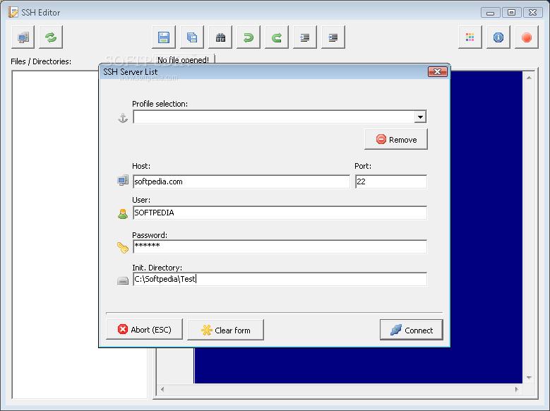 Download SSH Editor 1 0 0 Build 29