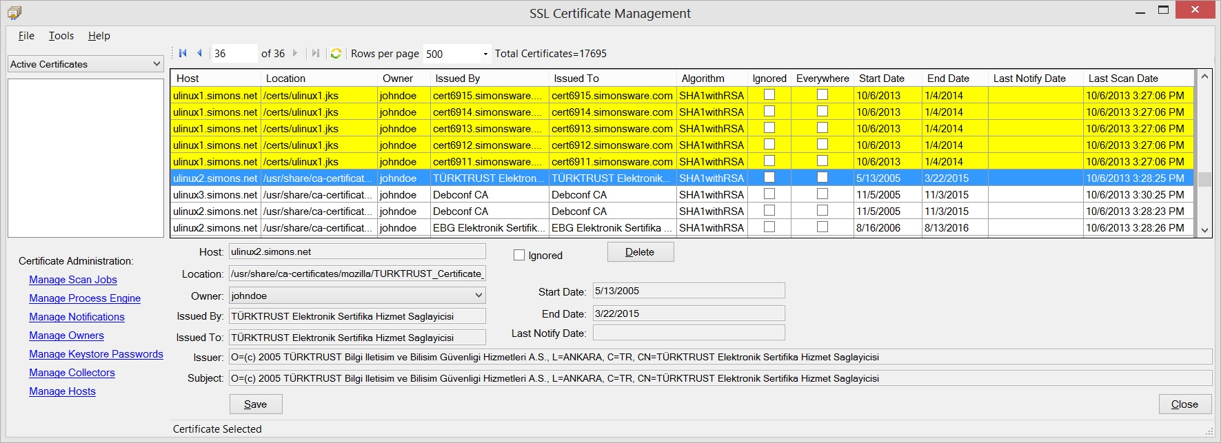Ssl certificate management download xflitez Gallery
