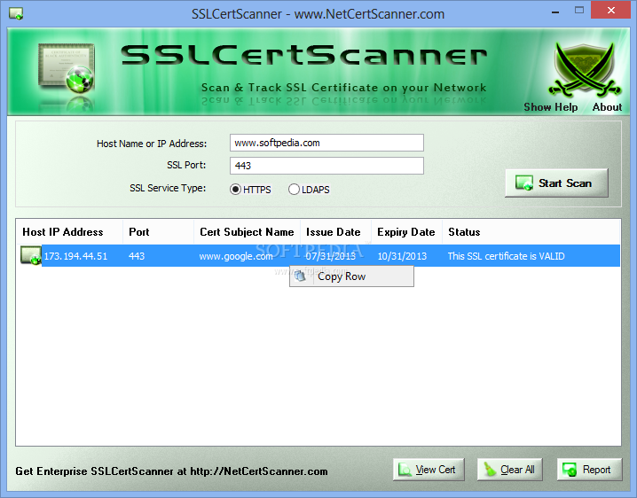 Download Sslcertscanner Portable 60