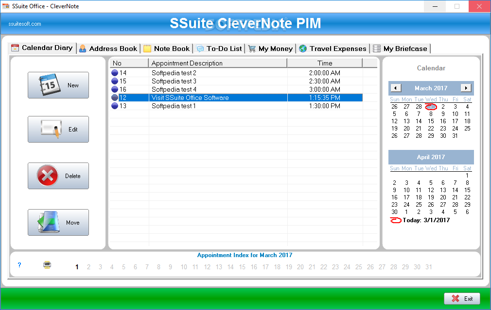 Windows10up.com Download Free SSuite Office - CleverNote PIM Portable - SSuite Office - CleverNote